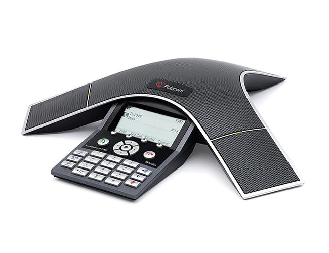 Polycom SoundStation IP 7000 teleconferencing equipment