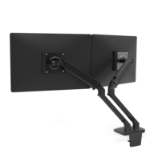 Ergotron MXV Desk Dual Monitor Arm (matte black)