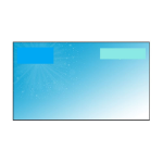 """Optoma ALR101 projection screen 2.54 m (100"""") 16:9"""