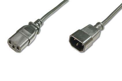 ASSMANN Electronic AK-440201-018-S cable de transmisión Negro 1,8 m C13 acoplador C14 acoplador