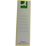 Q-CONNECT Q CONNECT LEVER ARCH SPINE LABELS PK10