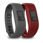 Garmin 010-12452-02 Grey, Red activity tracker band