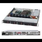 Supermicro SC113TQ-600CB Rack 600W Black computer case