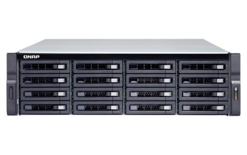 QNAP TS-1673U-RP-16G/192TB-ULTRA storage server Ethernet LAN Rack (3U) Black NAS
