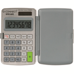 Q-CONNECT KF01602 Pocket Basic Grey, White calculator
