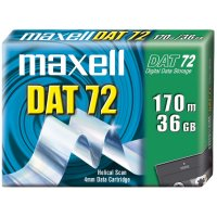 Maxell DAT 72 Data Cartridge 3.80 mm