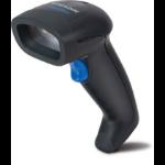Datalogic QuickScan D2330 Laser reader (black) + KBW cable + stand