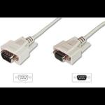ASSMANN Electronic AK-610203-050-E 5m Beige seriële kabel