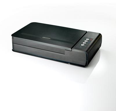Plustek OpticBook 4800 1200 x 2400 DPI Flatbed scanner Black A4