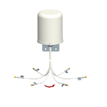 Fortinet FANT-06ABGN-0606-O-R network antenna Omni-directional antenna RP-SMA 6 dBi