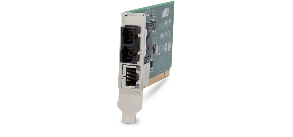 Allied Telesis MC102XLPCI Internal 100Mbit/s 1310nm Multi-mode Green network media converter