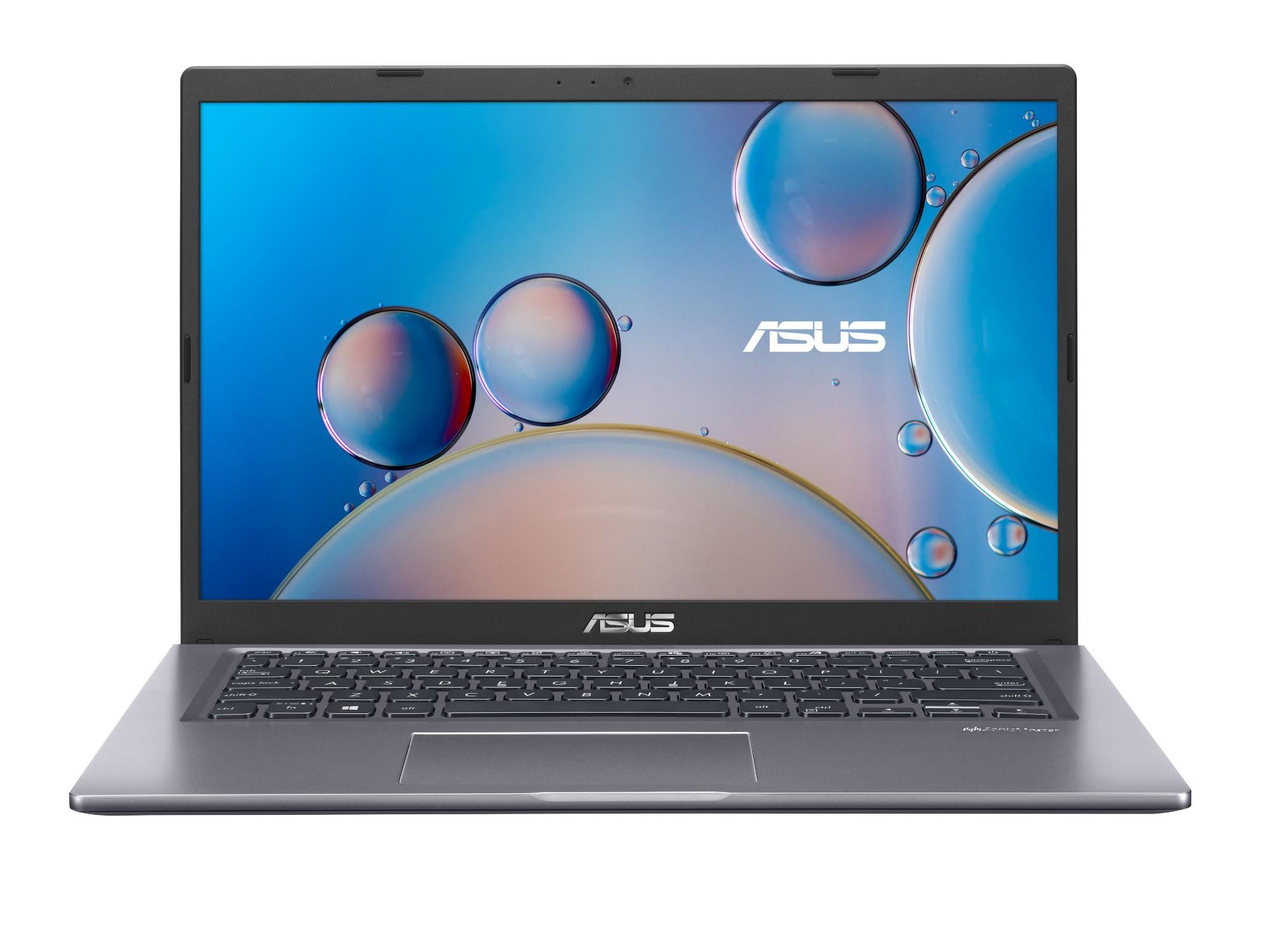 """ASUS P1411CJA-EK459R notebook DDR4-SDRAM 35.6 cm (14"""") 1920 x 1080 pixels 10th gen Intel® Core™ i5 4 GB 512 GB SSD Wi-Fi 5 (802.11ac) Windows 10 Home Grey"""