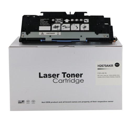 Remanufactured HP Q2670A (308A) Black Toner Cartridge