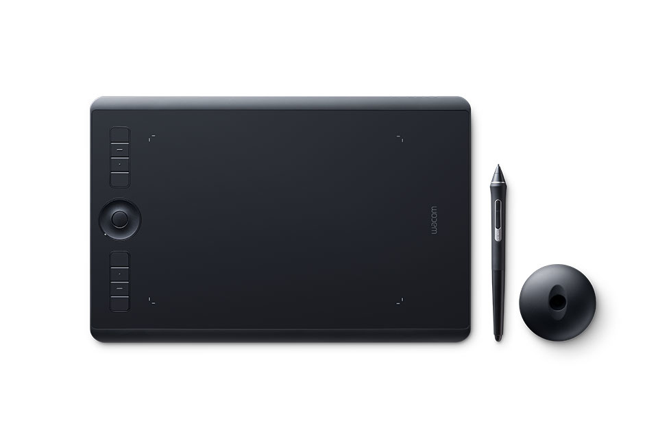 Wacom Intuos Pro M South tableta digitalizadora 5080 líneas por pulgada 224 x 148 mm USB/Bluetooth Negro