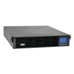 Tripp Lite SmartOnline 208/230V 1kVA 900W Double-Conversion UPS, 2U, Extended Run, SNMP Card Option, LCD, USB, DB9, ENERGY STAR
