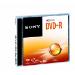 Sony Paquete de 16 discos DVD-R, 4,7 GB, DVD-R, 120 min, Caja de joyas