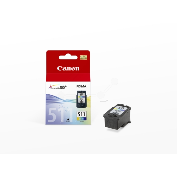 Canon 2972B009 (CL-511) Printhead color, 244 pages, 9ml