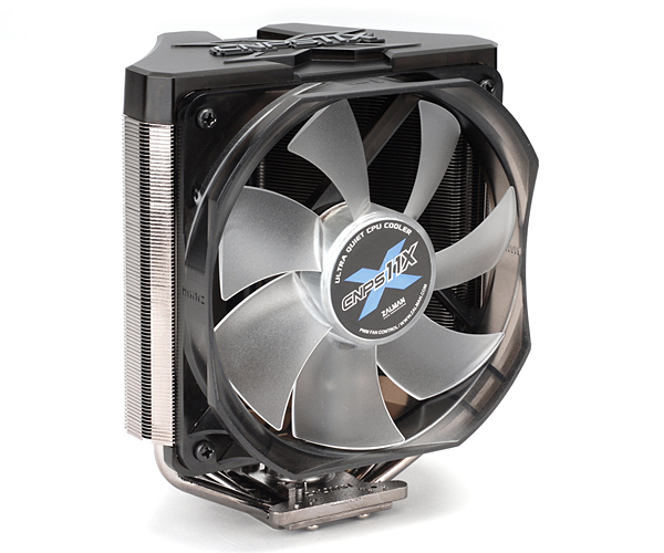 V-shaped Dual Heat Sink Cpu Cooler Cnps11x
