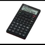 Sharp EL-738FB Pocket Financial Black calculator