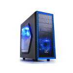 DeepCool Tesseract SW Midi-Tower Black, Blue computer case