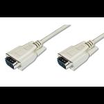 ASSMANN Electronic VGA 5m VGA kabel VGA (D-Sub) Beige