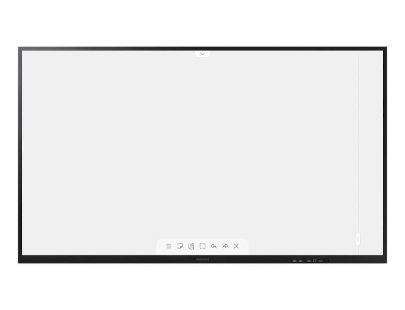 """Samsung LH75WMAWLGC interactive whiteboard 190.5 cm (75"""") 3840 x 2160 pixels Touchscreen Black"""