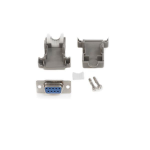 StarTech.com Conector D-SUB DB9 Serial Hembra Ensamblado con Carcasa Plástica