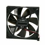 Noiseblocker BlackSilentPro PLPS Computer case Fan 12 cm Black