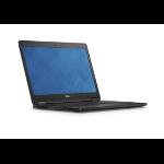 """DELL Latitude E7470 2.3GHz i5-6200U 14"""" 1366 x 768pixels Black Notebook"""