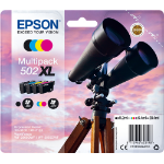 Epson 502XL 6.4ml 9.2ml 550pages 470pages Black, Cyan, Magenta, Yellow ink cartridge C13T02W64010
