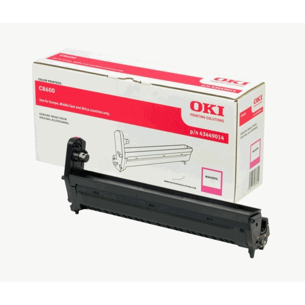 OKI 43449014 Drum kit, 20K pages @ 5% coverage