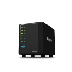Synology DiskStation DS416slim Ethernet LAN Desktop Zwart NAS
