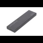 """ASSMANN Electronic DA-71115 SSD enclosure M.2"""" Zwart opslagbehuizing"""