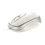Trust Mini Travel Mouse - White USB Optical White mice