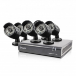 Swann DVR8-4600 - 8 Channel 1080p Digital Video Recorder & 6 x PRO-A855 Cameras CCTV KIT