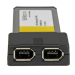 StarTech.com 2 Port ExpressCard 1394a FireWire Laptop Adapter Card EC13942A2