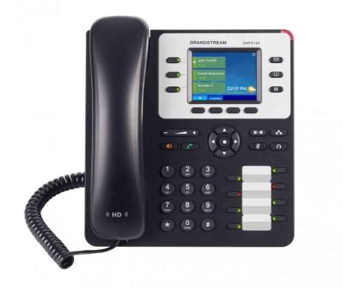 Grandstream Networks GXP2130 v2 IP phone Black,Grey Wired handset TFT 3 lines