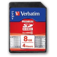 Verbatim Premium 8GB SDHC Class 10 memory card