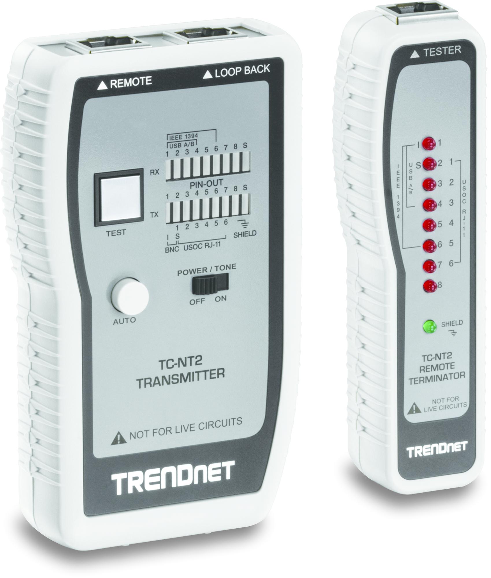 Trendnet TC-NT2 network analyzer