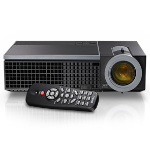 DELL 1610HD Desktop projector 3500ANSI lumens DLP WXGA (1280x800) 3D Black data projector