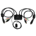 """StarTech.com 2 Port USB HDMI Cable KVM Switch with Audio and Remote Switch """" USB Powered"""