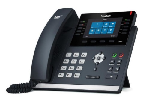 Yealink T46S-Skype for Business Edition IP phone Black Wired handset