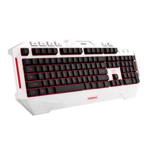 ASUS Cerberus Arctic keyboard USB White