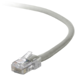 Belkin UTP CAT5e 1m 1m Cat5e U/UTP (UTP) Grey networking cable