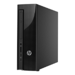 HP Slimline 411-a025na 1.6GHz N3700 Desktop Black PC