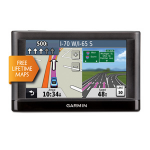 "Garmin nüvi 42LM Handheld/Fixed 4.3"" Touchscreen 149.3g Black"