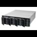 QNAP TS-EC1680U R2 NAS Bastidor (3U) Ethernet Aluminio, Negro
