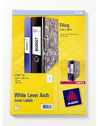 Avery L7171-25 self-adhesive label White 100 pc(s)
