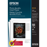 Epson Photo Quality Inkjet Paper - A4 - 100 Vellen