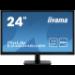 "iiyama ProLite E2483HSU-B5 pantalla para PC 61 cm (24"") 1920 x 1080 Pixeles Full HD LED Negro"